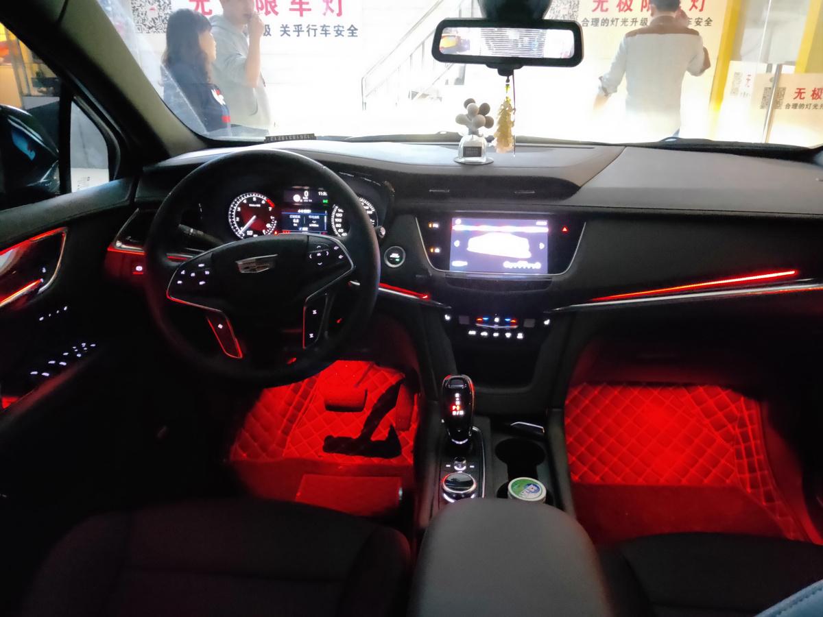 凯迪拉克专车专用氛围灯LED室内灯 重庆无极限车灯改装