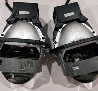 米石双光透镜