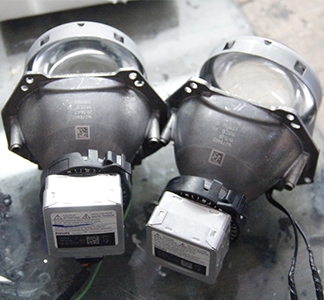 Q5双光透镜