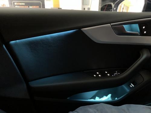 新款奥迪A5车内氛围灯LED室内灯LED亚博vip6